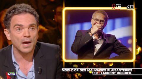 VIDEO Yann Moix décerne un prix à Laurent Ruquier pour s'être moqué de l'âge de Brigitte Macron