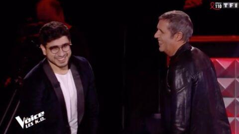 The Voice 8: Julien Clerc sauve de justesse Marouen, le talent qui pourrait gagner