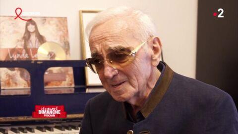 VIDEO Ces images inédites de Charles Aznavour, tournées deux jours avant sa mort