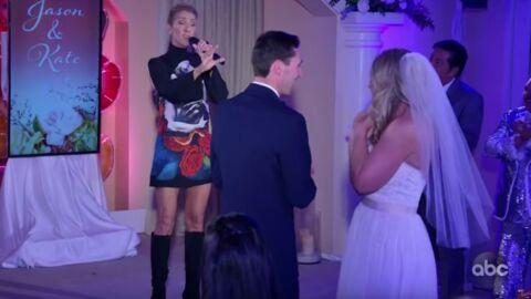 Céline Dion s'invite par surprise à un mariage à Las Vegas