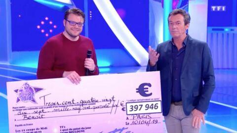 Benoît éliminé des 12 coups de midi: va-t-il réellement empocher ses 397 946€?