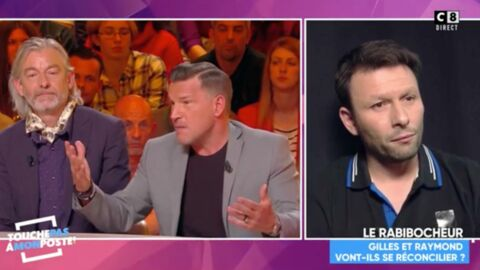 VIDEO Gilles Verdez réclame des excuses à Raymond Aabou après leur clash dans les coulisses de TPMP