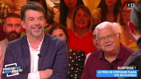 VIDEO Stéphane Plaza annonce son mariage à son père en direct sur C8