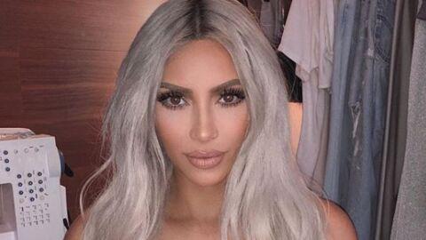 PHOTO Kim Kardashian à moitié nue: sa technique ultra sexy pour demander conseil à ses fans