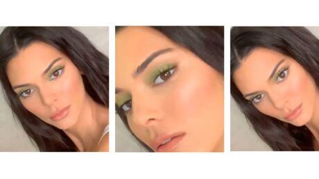 Coachella – On veut le make-up vert de Kendall Jenner