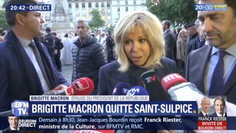 VIDEO Brigitte Macron a-t-elle contredit Emmanuel Macron concernant la reconstruction de Notre-Dame?