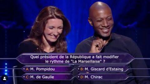 Qui veut gagner des millions?: Anne-Claire Coudray et Harry Roselmack dérangent Gilles Bouleau à un mauvais moment