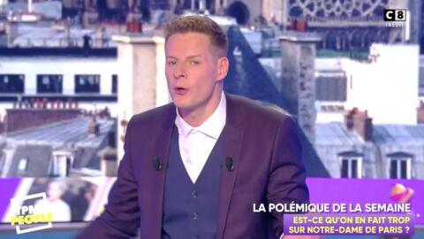 VIDEO Matthieu Delormeau gêné par les larmes de Stéphane Bern après l'incendie de Notre-Dame de Paris