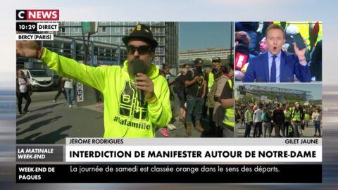 VIDEO Un journaliste de CNews vérifie en direct une info de Jérôme Rodrigues… et c'est un mensonge