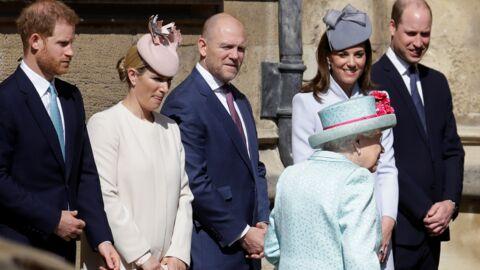PHOTOS Kate et William d'un côté, Harry de l'autre: la famille divisée à la messe de Pâques