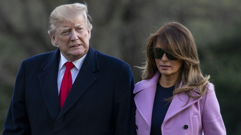 Melania Trump « contrariée » : sa dispute publique avec Donald Trump