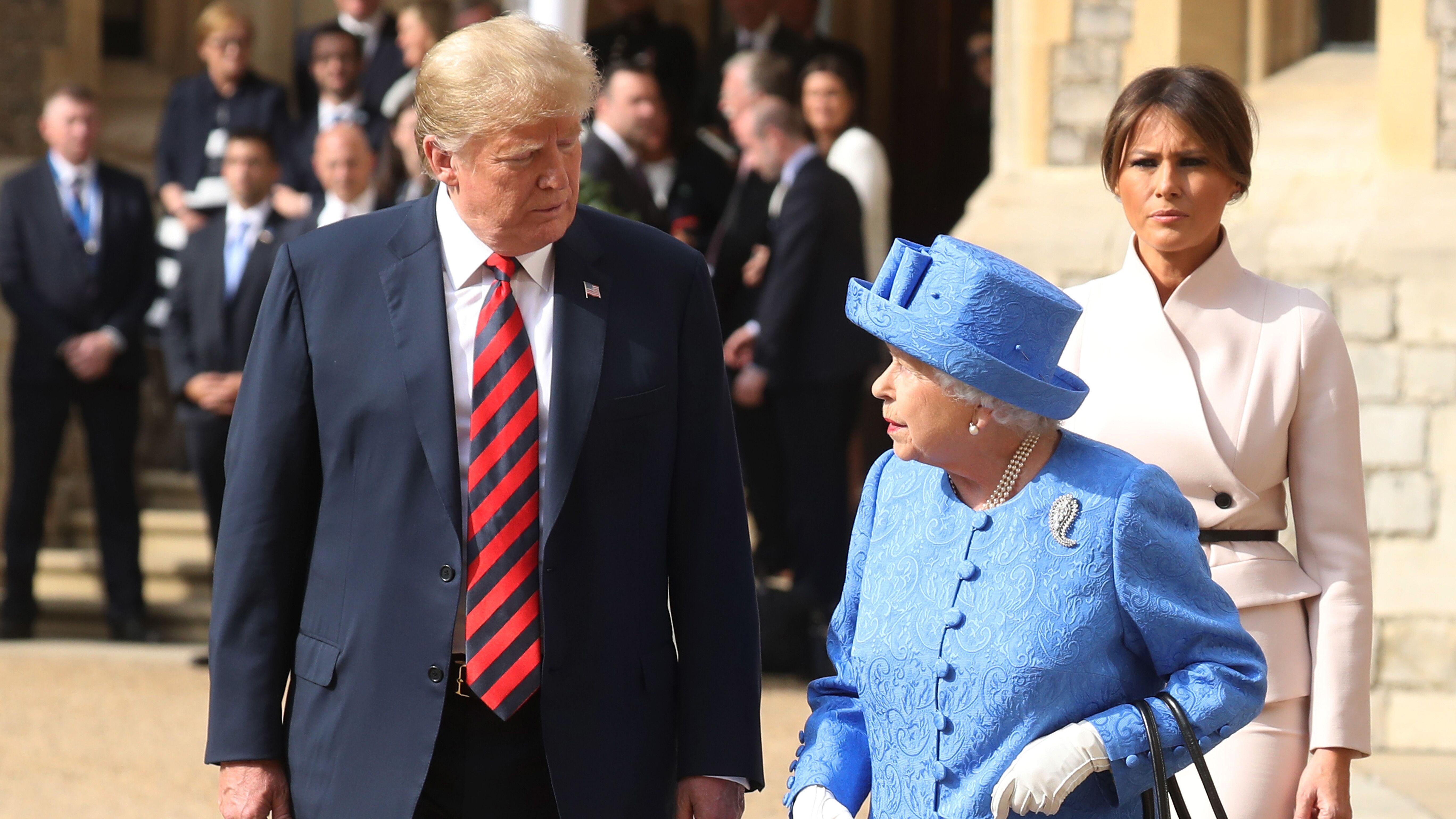 Donald Trump : son embarrassante erreur qui fait affront à la reine Elizabeth II