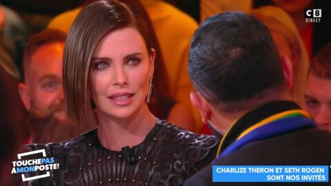 VIDEO Charlize Theron recadre Cyril Hanouna en plein direct dans TPMP
