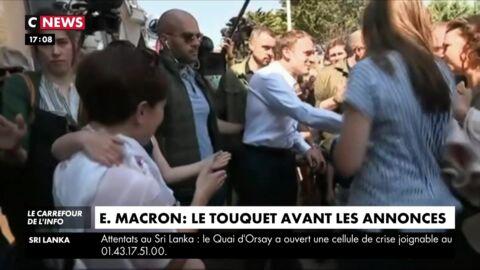 Une journaliste de CNews remerciée (puis réintégrée) après une erreur sur un reportage sur Emmanuel Macron