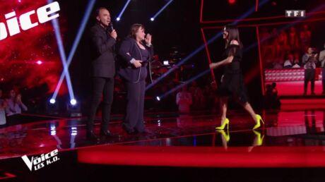 PHOTOS Jenifer: découvrez le prix de ses escarpins jaunes dans The Voice