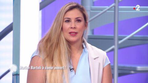 VIDEO Marion Bartoli craque devant les images d'elle très maigre dans C'est au programme