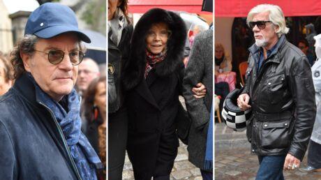 Obsèques de Dick Rivers: l'émotion de Francis Cabrel, Pierre Billon et Isabelle Aubret