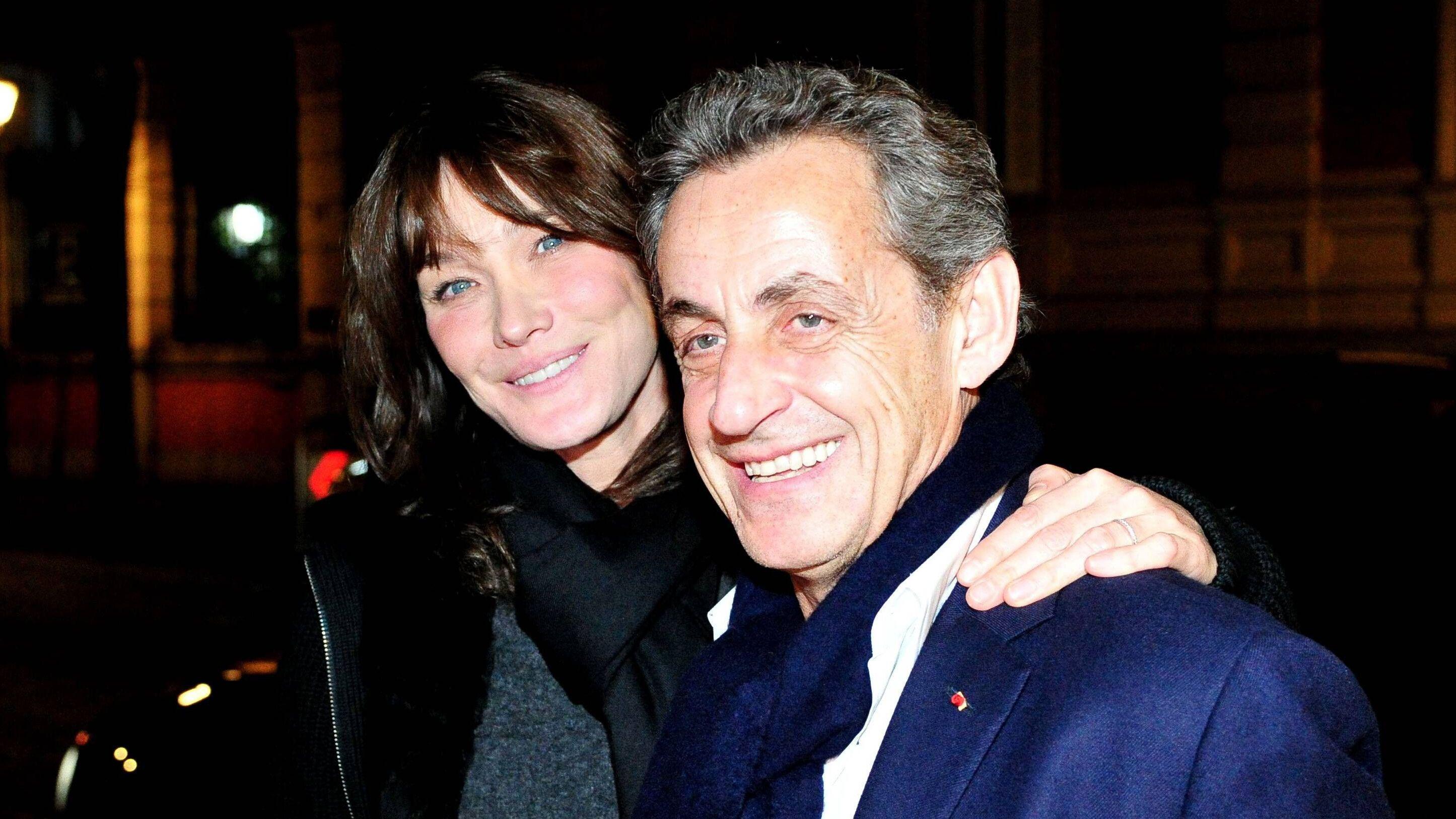 Carla Bruni Tendres Moments Entre Nicolas Sarkozy Et Leur Fille Giulia Voici