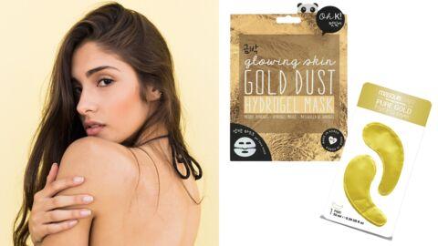 5 masques gold pour avoir une peau en or