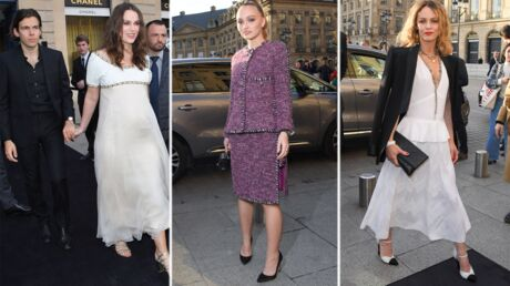 PHOTOS Soirée Chanel: Keira Knightley enceinte, Vanessa Paradis et Lily-Rose Depp complices