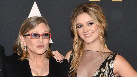 PHOTO Carrie Fisher: sa fille Billie Lourd lui rend hommage deux ans et demi après sa mort