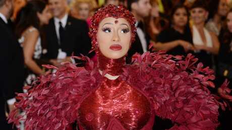 PHOTOS Découvrez le prix totalement fou des tétons-bijoux de Cardi B lors du Met Gala 2019
