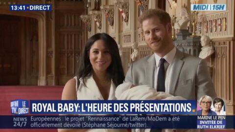 VIDEO Meghan Markle et le prince Harry s'expriment ensemble pour la première fois après la naissance de leur bébé