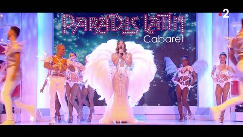 VIDEO Iris Mittenaere magnifique meneuse de revue, elle fait le show dans Vivement Dimanche