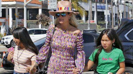 PHOTOS Laeticia Hallyday: les tendres attentions de Jade et Joy pour la fête des mères