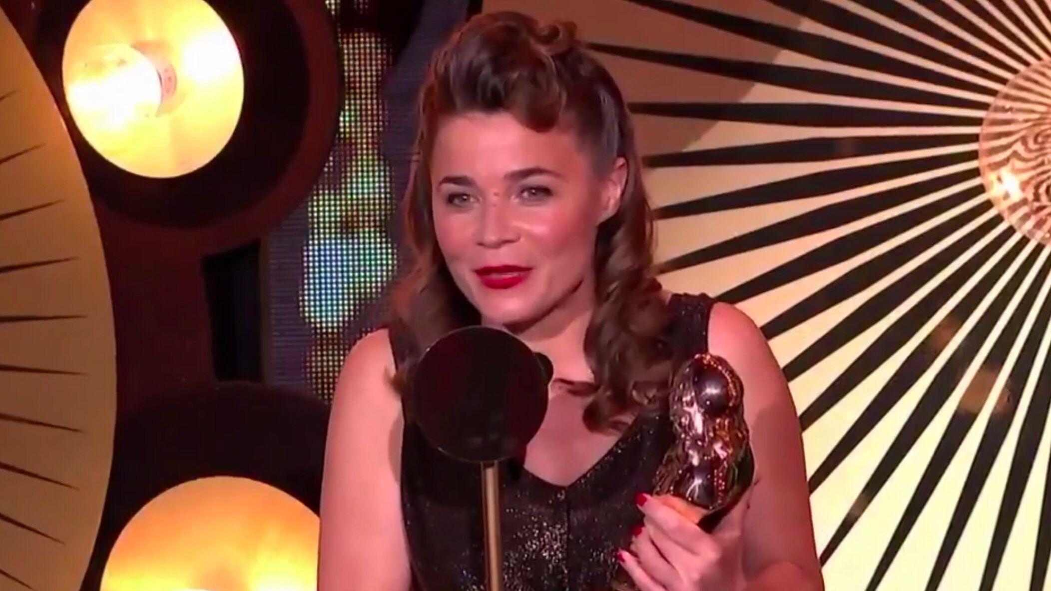 VIDEO Molières 2019 : Blanche Gardin récompensée, elle ironise sur sa victoire