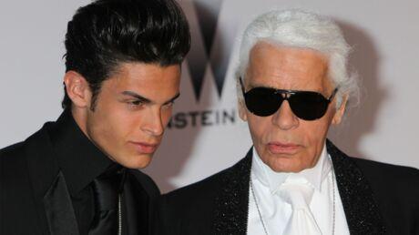 Baptiste Giabiconi prépare une série documentaire sur Karl Lagerfeld, son «père» de cœur