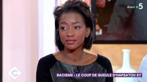 VIDEO Hapsatou Sy: les odieux messages racistes qu'elle reçoit depuis qu'elle vit avec Vincent Cerutti