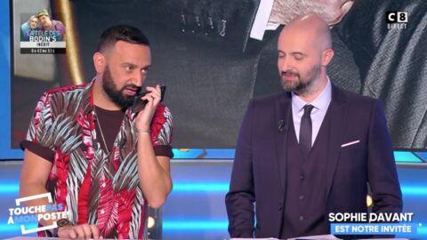 VIDEO Cyril Hanouna: la drôle de réaction du directeur des programmes de France Télévisions appelé en direct dans TPMP