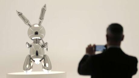 Un lapin de Jeff Koons s'est vendu à 91,1 millions de dollars!