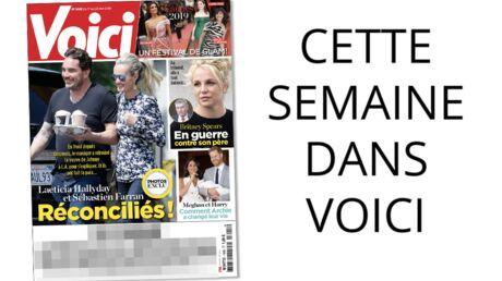 Cette semaine dans Voici: Laeticia Hallyday et Sébastien Farran sont enfin réconciliés
