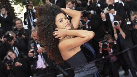 PHOTOS Cannes 2019: Tina Kunakey sublime pour son premier tapis rouge depuis la naissance de sa fille