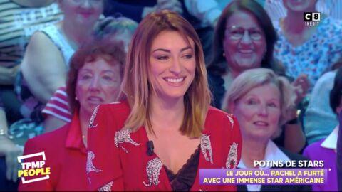 VIDEO Rachel Legrain-Trapani révèle avoir flirté avec une star américaine au Festival de Cannes