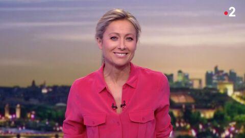 VIDEO Quand Anne-Sophie Lapix improvise quelques pas de danse sur le plateau du journal de 20 heures