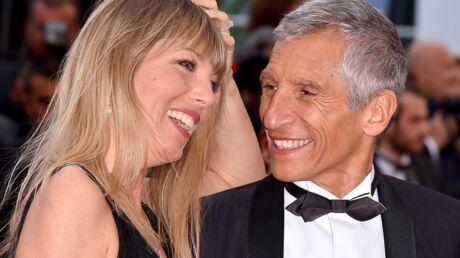 Cannes 2019 Nagui envoûté par sa compagne Mélanie sur les Marches du Almodovar