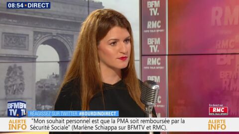 VIDEO Cannes 2019: Marlène Schiappa réagit à la polémique qui vise Alain Delon