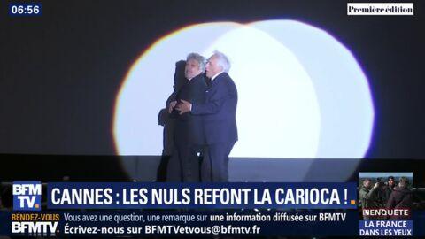 VIDEO Cannes 2019: Alain Chabat et Gérard Darmon refont la Carioca de La cité de la peur