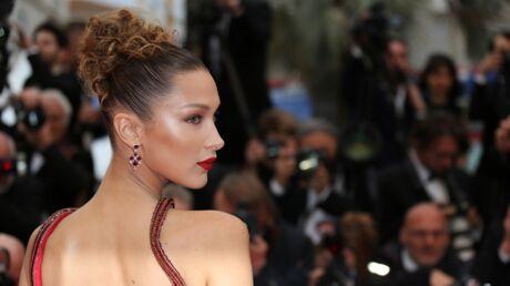 Cannes 2019: Bella Hadid flamboyante sur le tapis rouge