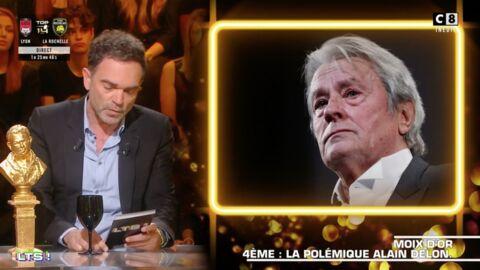 VIDEO Yann Moix prend la défense d'Alain Delon au cœur d'une polémique au festival de Cannes