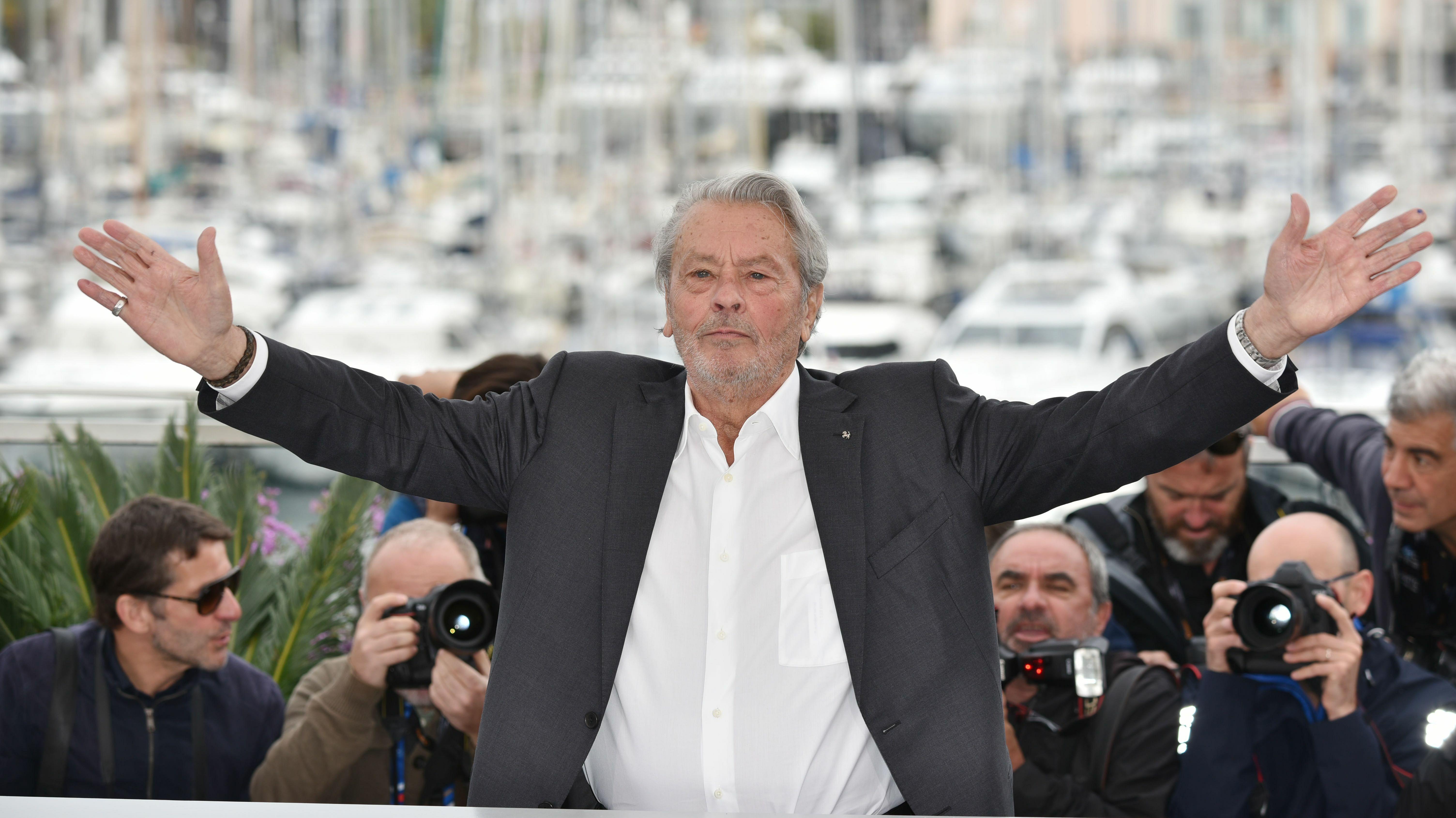 Alain Delon évoque sa « fin de vie » lors de son discours au Festival de Cannes