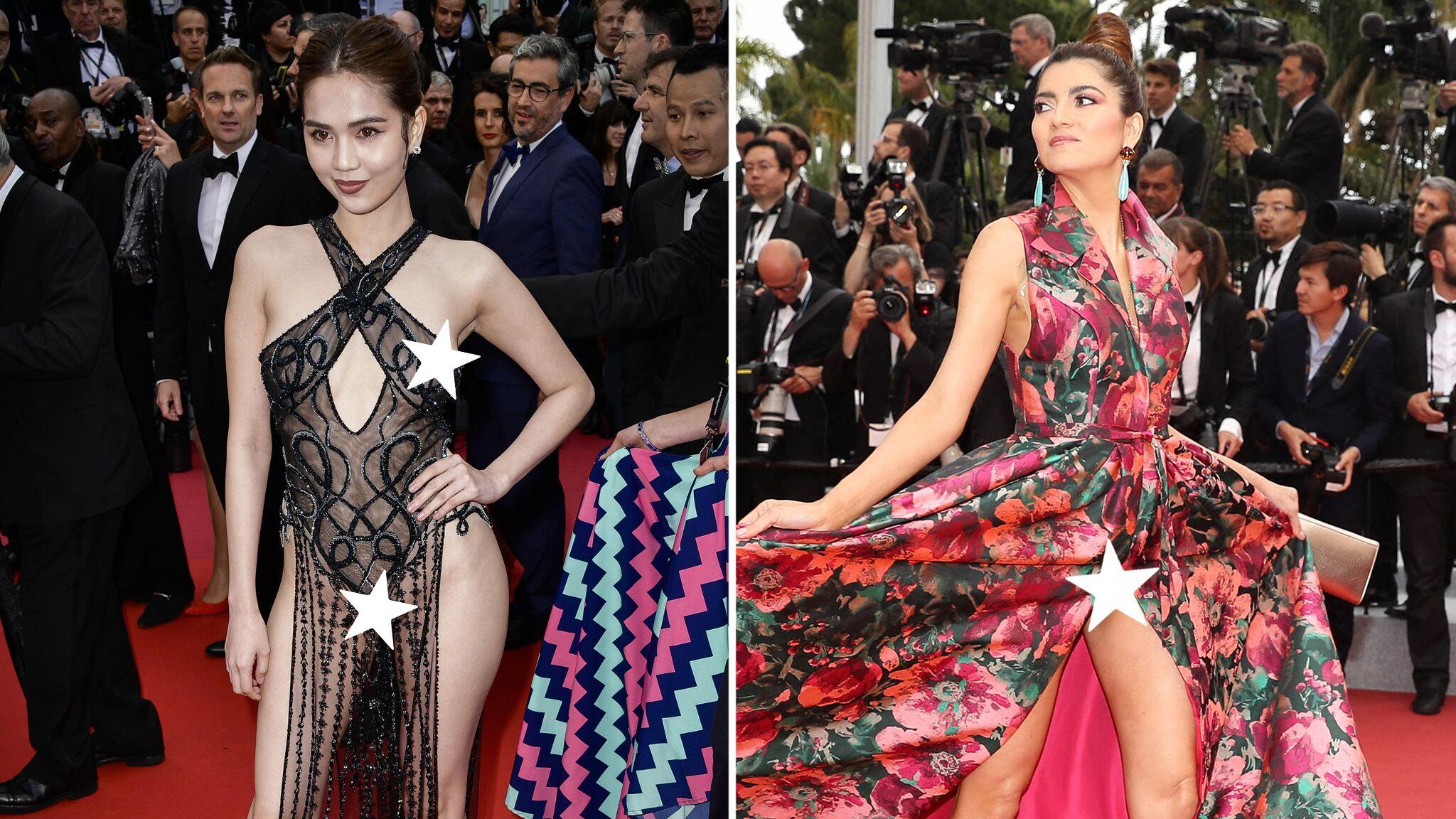 PHOTOS Cannes 2019 : alerte sexy sur la Croisette, deux invitées en montrent trop