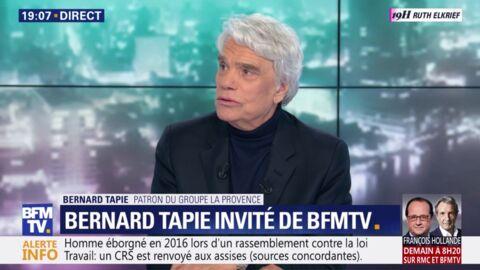 VIDEO Bernard Tapie: son message bouleversant face à la peine qu'il risque