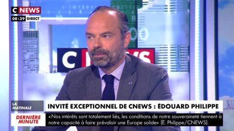 VIDEO Edouard Philippe évoque avec émotion la difficile fin de vie de son père