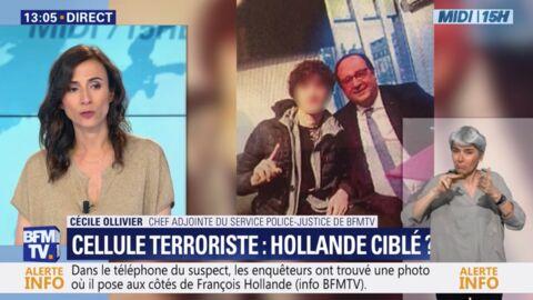 VIDEO François Hollande visé par un attentat? Un suspect d'une cellule terroriste s'est pris en selfie avec lui!