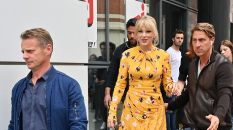 PHOTOS Taylor Swift : total look jaune et bain de foule avec ses fans à Paris