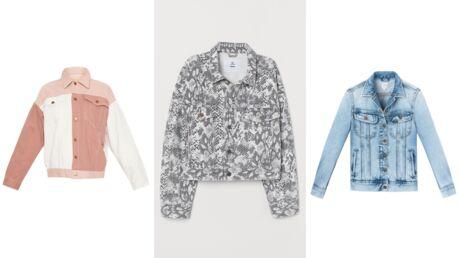 15 vestes en jean pour la mi-saison